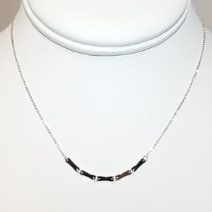 Jewelry - NEW 925 Sterling Silver Chain Choker Necklace